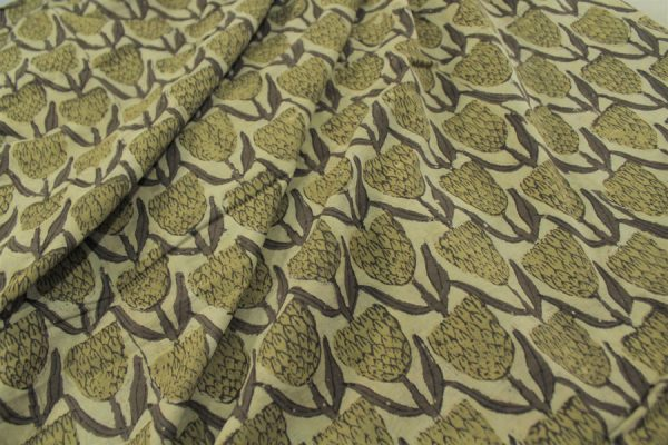 Ajrakh Print HandCrafted Pure Cotton Fabric